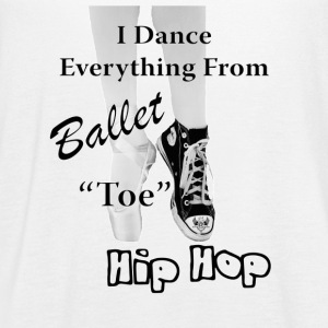 Ballet & Hip Hop - Women's Flowy Tank Top by Bella