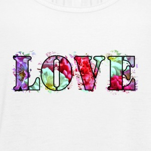 Love-Roses-Collage - Women's Flowy Tank Top by Bella