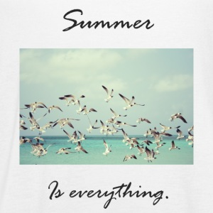 summer is everything - Women's Flowy Tank Top by Bella