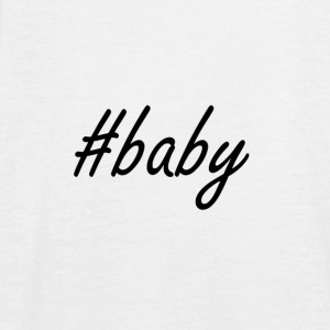 hashtag baby - Women's Flowy Tank Top by Bella