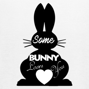 Easter Bunny Love, Some Bunny Loves You - Women's Flowy Tank Top by Bella