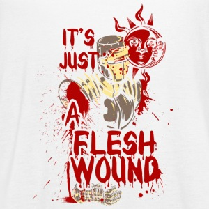 The wounded knight - it's just a flesh wound - Women's Flowy Tank Top by Bella