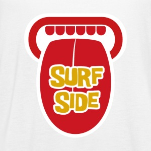 Surf Side - Women's Flowy Tank Top by Bella