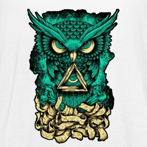 Illuminati Owl - Women's Flowy Tank Top by Bella
