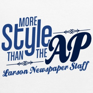 Larson Newspaper Staff - Women's Flowy Tank Top by Bella