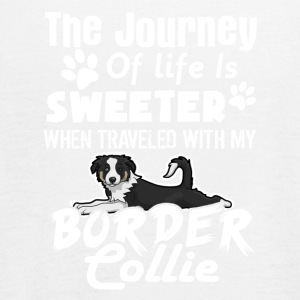 SWEETER BORDER COLLIE TEE SHIRT - Women's Flowy Tank Top by Bella