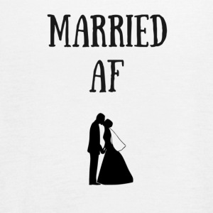 married af happily married - Women's Flowy Tank Top by Bella