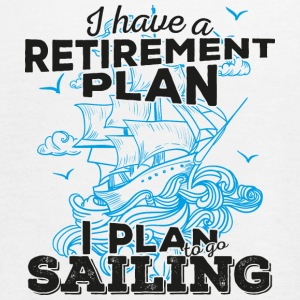 Retirement Plan Sailing (dark) - Women's Flowy Tank Top by Bella