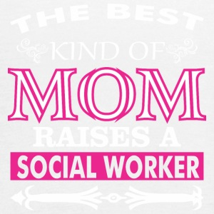 The Best Kind Of Mom Raises A Social Worker - Women's Flowy Tank Top by Bella