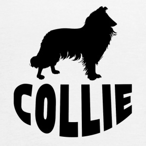 Collie Silhouette - Women's Flowy Tank Top by Bella