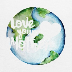 Love your mother earth day - Women's Flowy Tank Top by Bella