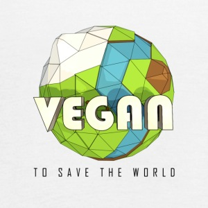 Vegan To Save the World - Women's Flowy Tank Top by Bella