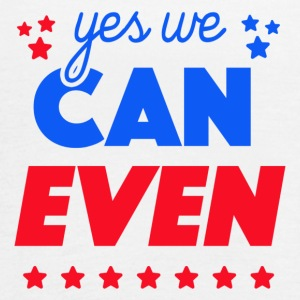 Yes We Can Even - Women's Flowy Tank Top by Bella