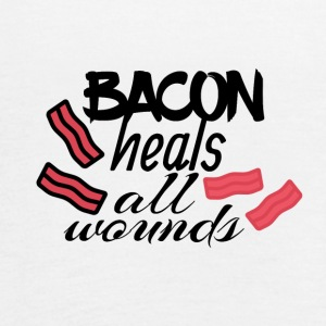 Bacon is able to do miracles - Women's Flowy Tank Top by Bella