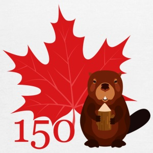 Canada 150 - Beaver - Women's Flowy Tank Top by Bella