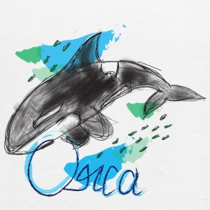 Orca / Killer Whale - Women's Flowy Tank Top by Bella