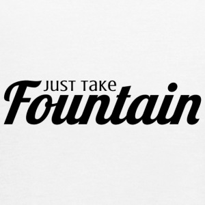 Just Take Fountain - Women's Flowy Tank Top by Bella