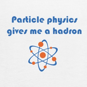 Funny particle physics joke - Women's Flowy Tank Top by Bella
