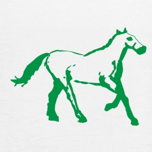 Horse - Women's Flowy Tank Top by Bella