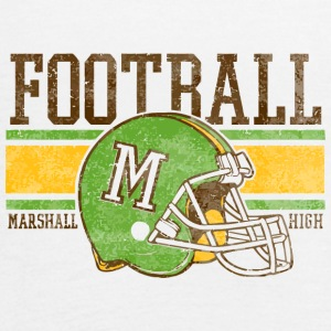 FOOTBALL M MARSHALL HIGH - Women's Flowy Tank Top by Bella