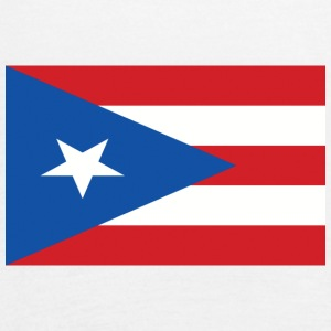 puerto rico flag 121400710 - Women's Flowy Tank Top by Bella