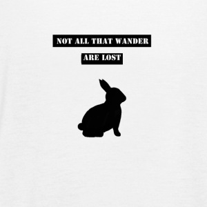 The_Rabbit - Women's Flowy Tank Top by Bella