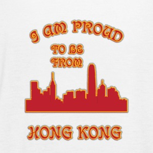 honG kong I am proud to be from - Women's Flowy Tank Top by Bella