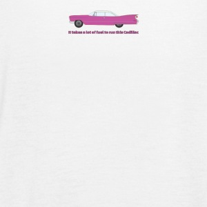 It Takes A Lot Of Fuel To Run This Pink Cadillac - Women's Flowy Tank Top by Bella