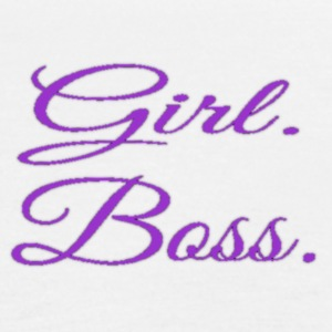 Girl. Boss. - Women's Flowy Tank Top by Bella