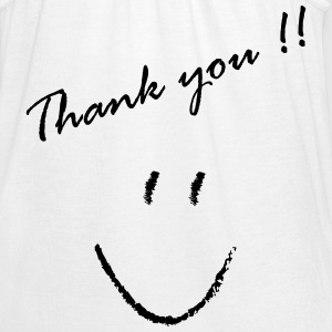 Thank You - Women's Flowy Tank Top by Bella