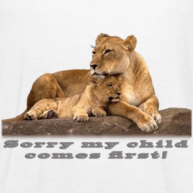 Lion-My child comes first