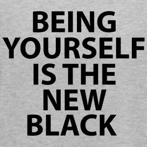 Being Yourself Is The New Black - Women's Flowy Tank Top by Bella