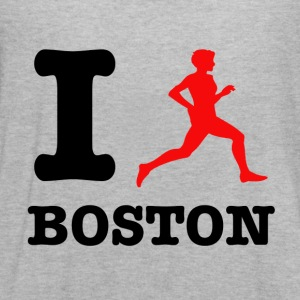 I run boston design - Women's Flowy Tank Top by Bella