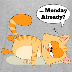Even Cat Hates Monday - Women's Flowy Tank Top by Bella