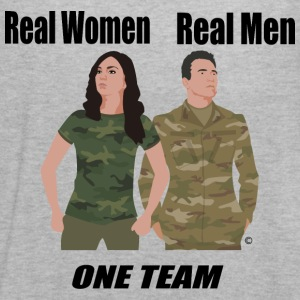 One Team: Army - Women's Flowy Tank Top by Bella