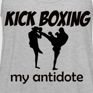 Kick Boxing design - Women's Flowy Tank Top by Bella