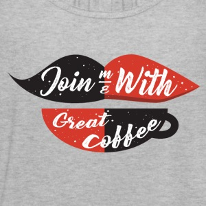 Join me with great coffee - Women's Flowy Tank Top by Bella