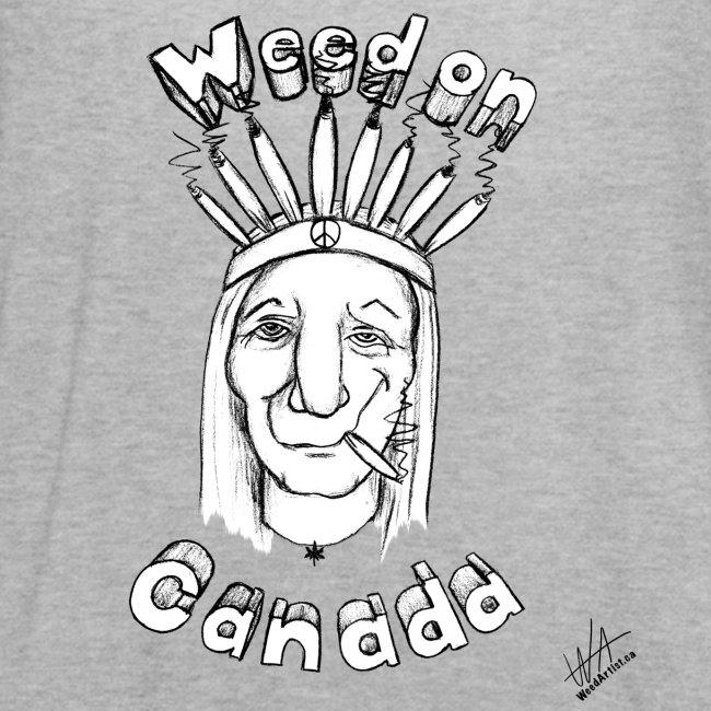 Weed On Canada, Original Art by WeedArtist