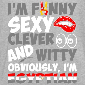 Im Funny Sexy Clever And Witty Im Egyptian - Women's Flowy Tank Top by Bella