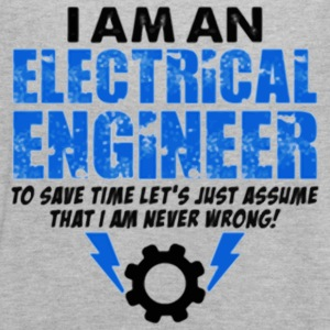 I Am An Electrical Engineer - Women's Flowy Tank Top by Bella