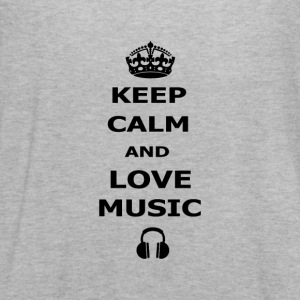 keep calm and love music - Women's Flowy Tank Top by Bella