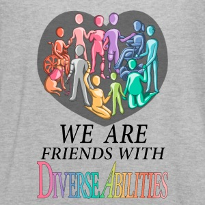 We Are Friends With DiverseAbilities - Women's Flowy Tank Top by Bella