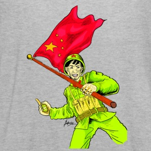 Chinese Soldier With Grenade - Women's Flowy Tank Top by Bella
