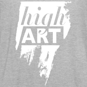 high art. negative space in a brush stroke. - Women's Flowy Tank Top by Bella