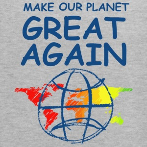 Make Our Planet Great Again - Women's Flowy Tank Top by Bella