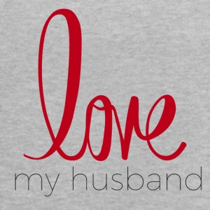 love my husband - Women's Flowy Tank Top by Bella