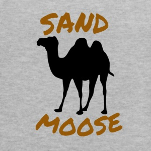 SAND MOOSE SHIRT FUNNY ANIMAL DESIGNS - Women's Flowy Tank Top by Bella