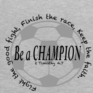 Be A Champion - Women's Flowy Tank Top by Bella