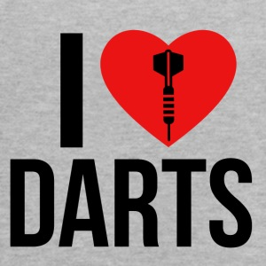 I LOVE DARTS - Women's Flowy Tank Top by Bella