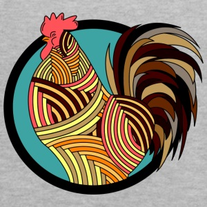 Colorful Rooster - Women's Flowy Tank Top by Bella